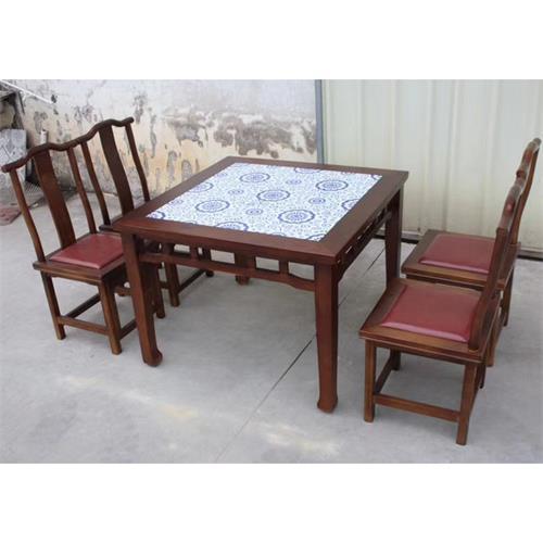 餐馆饭店酒楼川菜湘菜餐厅中式实木餐桌椅--厂家批发定做