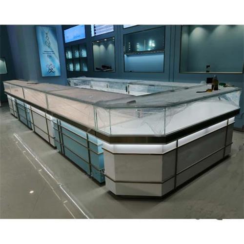 高级珠宝玻璃展柜_玻璃货柜展示柜