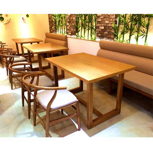 湘菜馆饭店主题餐厅田园风实木餐桌椅