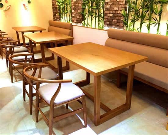 湘菜馆饭店主题餐厅田园风实木yabo娱乐 椅