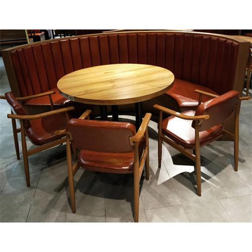 主题特色餐厅实木桌椅_湘菜川菜饭店餐桌椅厂家批发直销