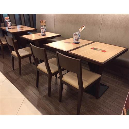 中式饭店实木桌椅_餐厅乡村怀旧实木桌椅-厂家直销