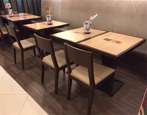 中式饭店实木桌椅_餐厅乡村怀旧实木桌椅