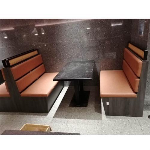 粤菜餐厅大理石餐桌椅家具_主题音乐餐厅桌椅定做