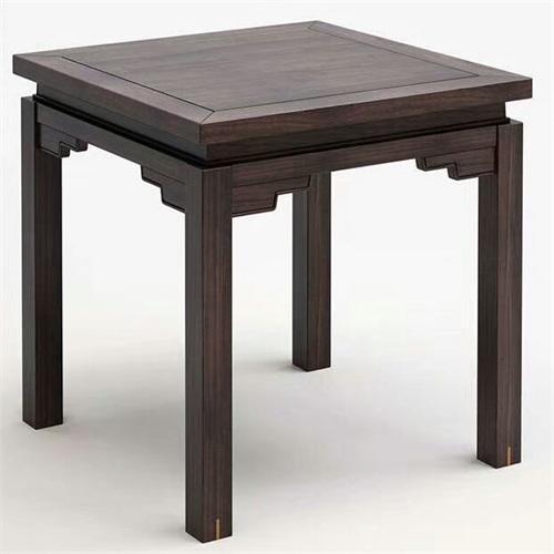 主题餐厅中式明清实木八方桌